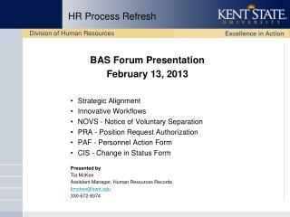 HR Process Refresh