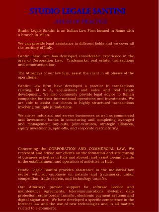Studio legale santini