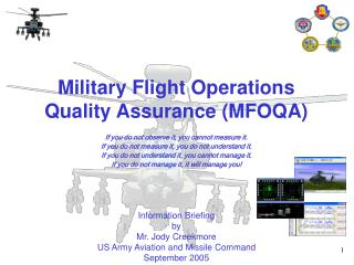 Military Flight Operations Quality Assurance (MFOQA)