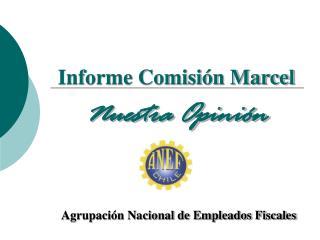 Informe Comisión Marcel Nuestra Opinión