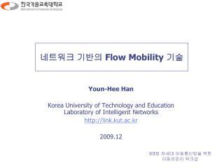 네트워크 기반의  Flow Mobility  기술