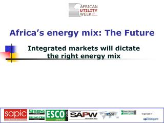 Africa's energy mix: The Future