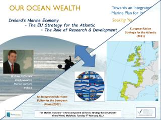 Dr Peter Heffernan  Chief Executive   Marine Institute Ireland