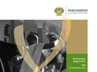 Parliamentary Budget Office PBO