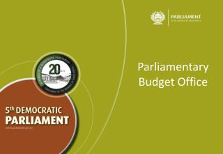 Parliamentary Budget Office