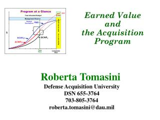 Roberta Tomasini  Defense Acquisition University DSN 655-3764 703-805-3764