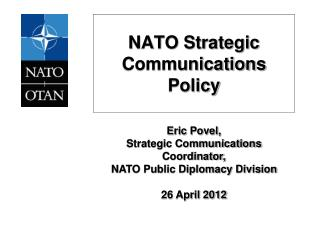 NATO Strategic Communications Policy