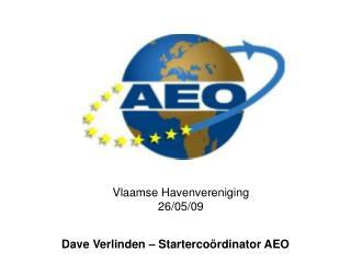 Vlaamse Havenvereniging 26/05/09