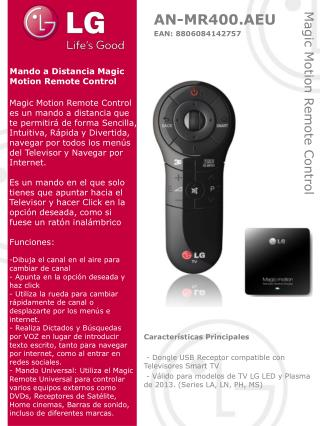 Magic Motion Remote Control