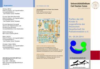 Treffen der AG Kinder & Jugendliche der Deutschen Gesellschaft für Palliativmedizin e.V.