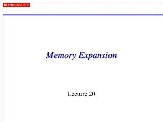 Memory Expansion