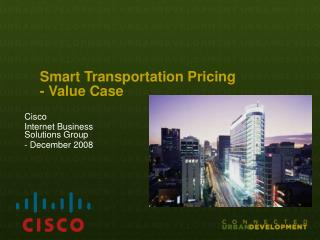 Smart Transportation Pricing - Value Case