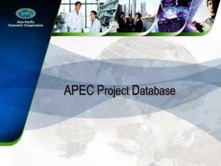 APEC P roject  D atabase