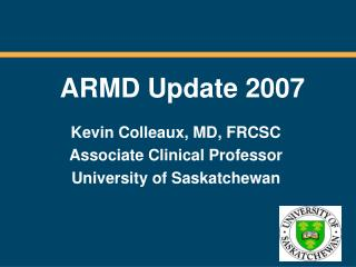 ARMD Update 2007