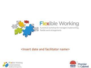 Insert date and facilitator name