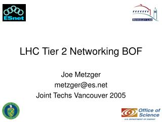 LHC Tier 2 Networking BOF