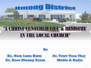 Hmong District