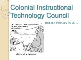 Colonial Instructional Technology Council