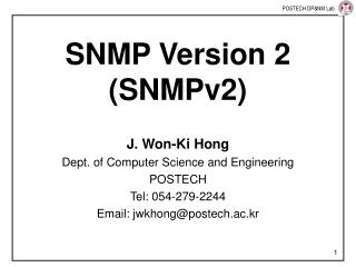 SNMP Version 2 (SNMPv2)