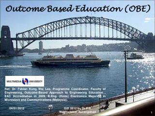 Outcome Based Education (OBE)