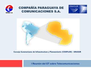 I Reunión del GT sobre Telecomunicaciones