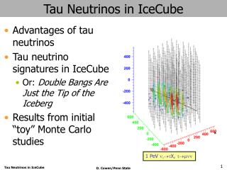 Tau Neutrinos in IceCube