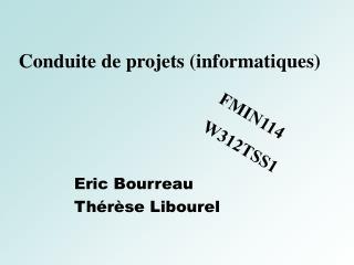 Conduite de projets (informatiques)