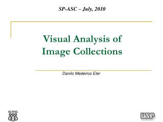 Visual Analysis of Image Collections