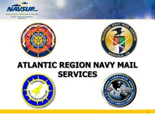 ATLANTIC REGION NAVY MAIL  SERVICES
