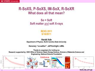 Soft x-rays  Advanced Light Source