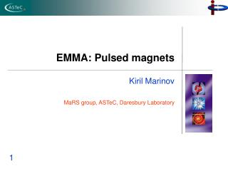 EMMA: Pulsed magnets