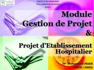 Module Gestion de Projet &