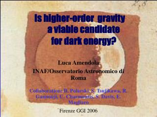 a viable candidate  for dark energy?