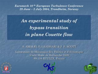 An experimental study of  bypass transition  in plane Couette flow