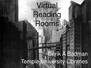 Virtual Reading Rooms