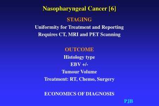Nasopharyngeal Cancer [6]