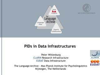 PIDs  in Data Infrastructures