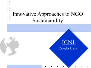 Innovative Approaches to NGO Sustainability