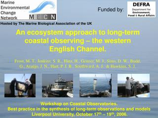 Hosted by The Marine Biological Association of the UK