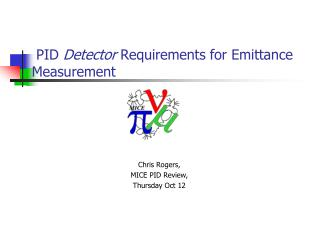 PID  Detector  Requirements for Emittance Measurement