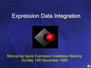 Expression Data Integration