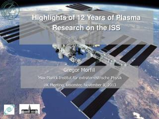 Highlights of 12 Years of Plasma Research on the ISS