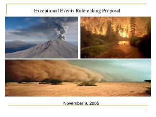 Exceptional Events Rulemaking Proposal