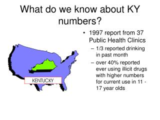 What do we know about KY numbers?
