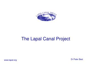 The Lapal Canal Project