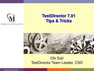 TestDirector 7.01 Tips & Tricks