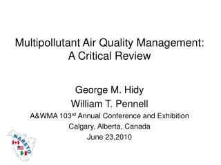 Multipollutant Air Quality Management: A Critical Review