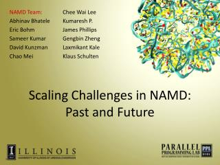 Scaling Challenges in NAMD:  Past and Future