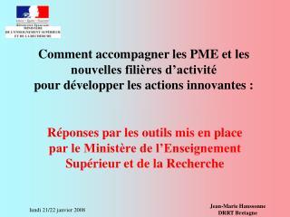 Jean-Marie Haussonne DRRT Bretagne
