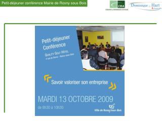 La conférence était menée alternativement par Jean-René VEYRE , Délégué Île-de-France EST